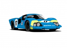 Dessin MATRA MS630 couleur de Adrien72140