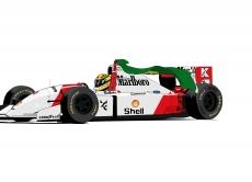 Dessin McLaren Honda MP4 4 couleur de Adrien72140