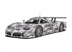 Dessin Nissan R390 GT1 de Adrien72140