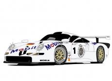Dessin Porsche 911 GT1 97' couleur de Adrien72140