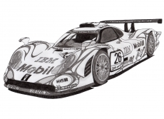 Dessin Porsche 911 GT1 de Adrien72140