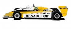 Dessin Reanult F1 RE20 couleur de Adrien72140