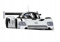Dessin Sauber Mercedes Benz couleur de Adrien72140