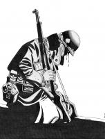 Dessin Soldat américain de Adrien72140