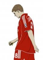 Dessin Steven Gerrard couleur de Adrien72140
