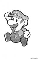 Dessin Super Mario 1 de Adrien72140