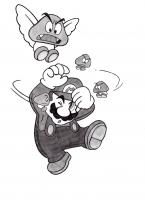 Dessin Super Mario 2 de Adrien72140