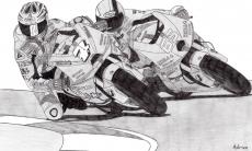 Dessin Suzuki Moto GP de Adrien72140