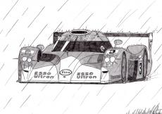 Dessin Toyota GT one de Adrien72140