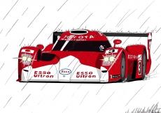 Dessin Toyota GT1 couleur de Adrien72140
