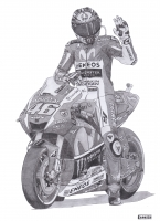 Dessin Valentino Rossi de Adrien72140
