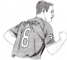 Dessin Wayne Rooney de Adrien72140