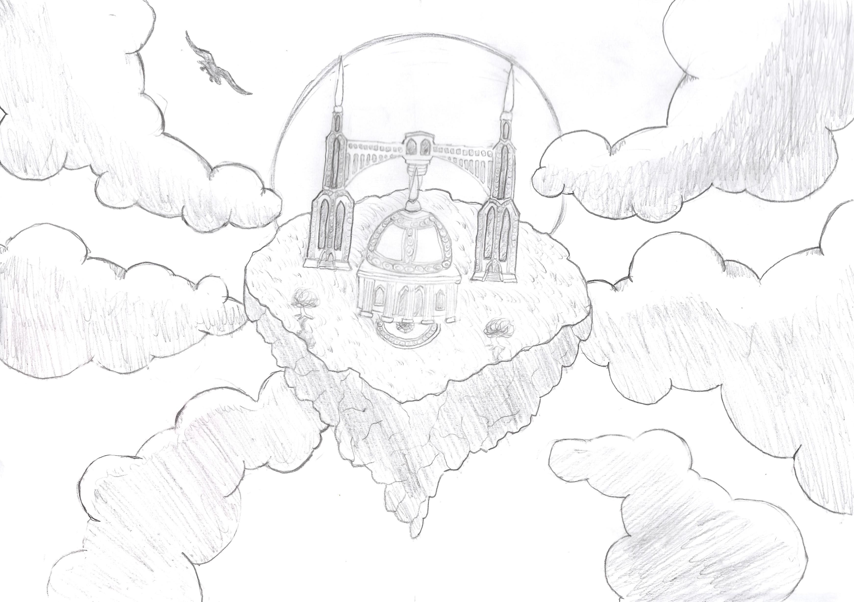 Dessin Le Temple du Ciel de MathDream