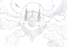 Dessin Le Temple du Ciel de MathDream