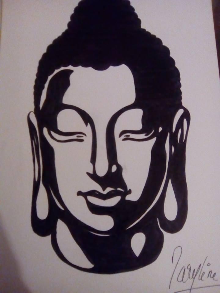 Dessin Bouddha Pencildrawing Fr